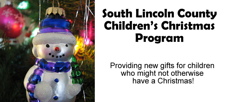 South Lincoln County Childrens Christmas Program