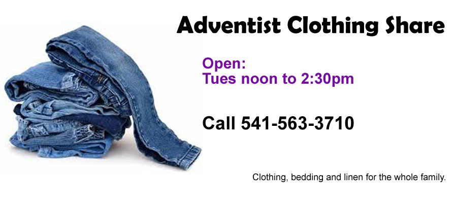 Adventist Clothing Share
