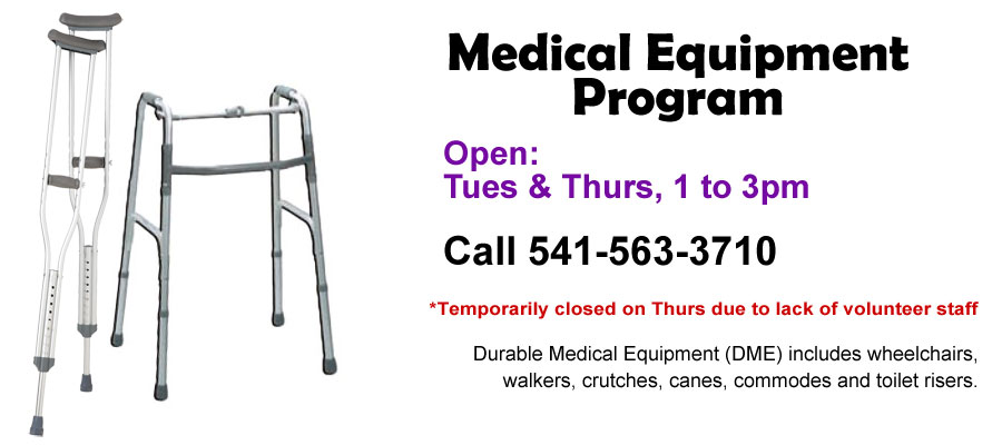 Medical Equipment Program